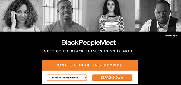 BlackPeopleMeet Review - Home Page