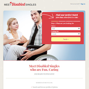 Meet Disabled Singles