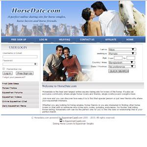 Dating site voor cowboys en Cowgirls