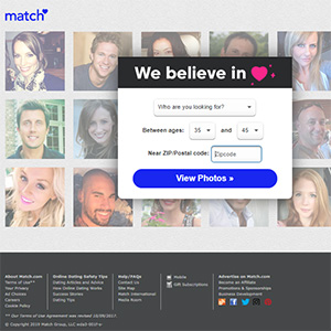 American dating web site