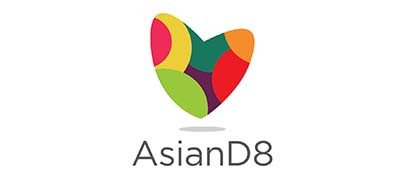 An image of AsianD8 official logo