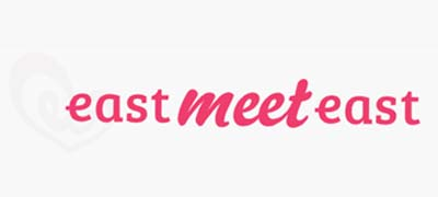 An image of EastMeetEast official logo