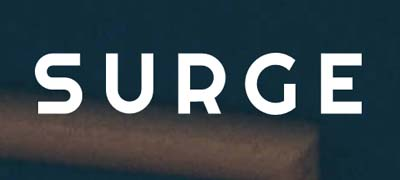 An image of Surge official logo