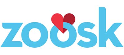 An image of Zoosk official logo.