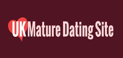 An image of UK Mature Dating Site official logo.
