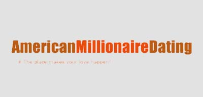 An image of American Millionaire Dating official logo.