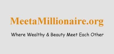 An image of Meet A Millionaire official logo.