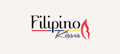 An image of FilipinoKisses official logo.
