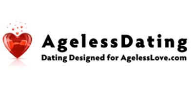 An image of Ageless Dating official logo.