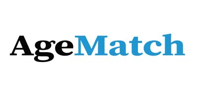 An image of Age Match official logo.