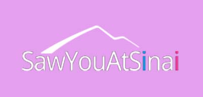 An image of SawYouAtSinai official logo.