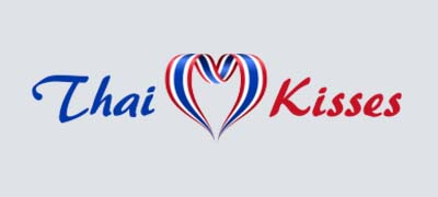 An image of ThaiKisses official logo.
