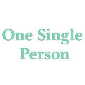 One Single Person